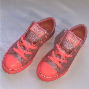 LAST ONE!! New Converse CTAS OX Glitter Sneakers
